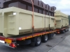 Transport von Abrollcontainern